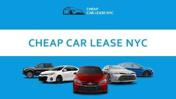 Cheap Car Lease NYC
