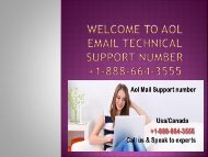 Unable to reset the password of your AOL mail call +1-888-664-3555 AOL mail support number?