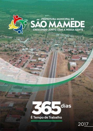 (Revista Digital) 365 dias - É Tempo de Trabalho - Prefeitura Municipal de São Mamede-PB