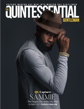 Sammie Covers The Quintessential Gentleman's QG Capture