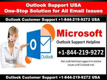 Dial Outlook Support Number USA +1-844-219-9272 USA