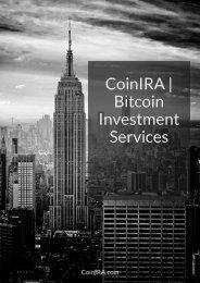 CoinIRA - Bitcoin Investment Services