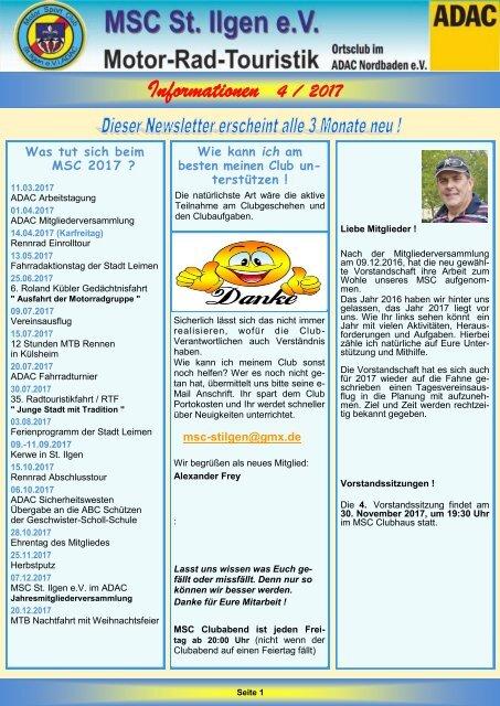 Newsletter 4-2017