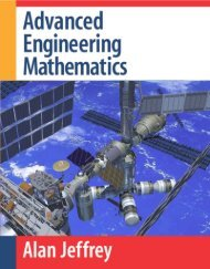 Advanced Engineering Mathematics Written by Alan Jeffrey