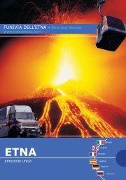 FUNIVIA DELL'ETNA • Etna Sud Nicolosi - Casa Olimpia