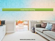 Carpet Steam Cleaning - GSR Cleaning