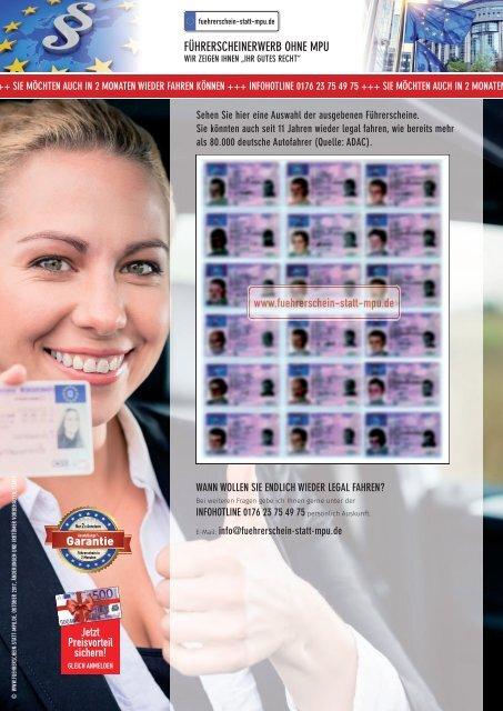Ausgegebene Führerschein