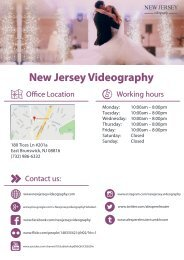 New_Jersey_Videography