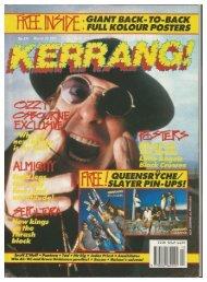 kerrang 334 march 30 1991