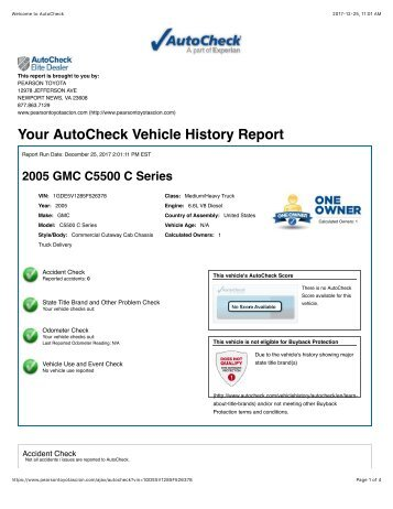 Coast Mountain Bus Company S227 Vehicle History Report