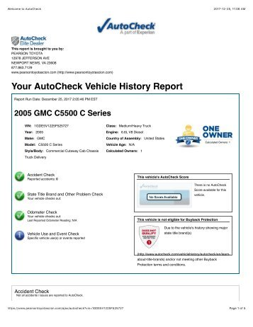 Coast Mountain Bus Company S231 Vehicle History Report
