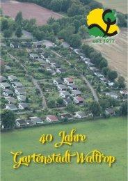 Festschrift Gartenstadt Citydruck