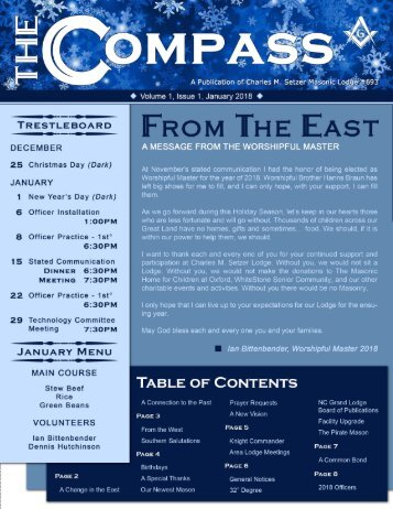 The Compass, Volume 1, Issue 1, January 2018-png