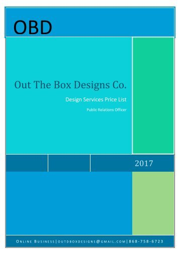 OBD Design Services 2017
