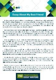 Essay About My Best Friend