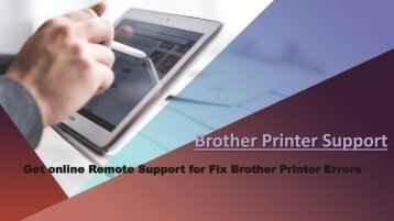 Dial 1-8002138289 Fix Brother Printer error 46 unable to clean