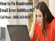 18552054286 Fix Roadrunner Email Error 0x800ccc90