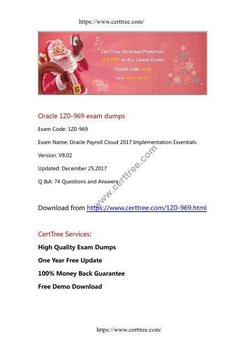 Oracle 1Z0-969 exam dumps