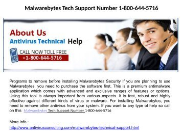 Malwarebytes Technical Support Number_1-800-644-5716