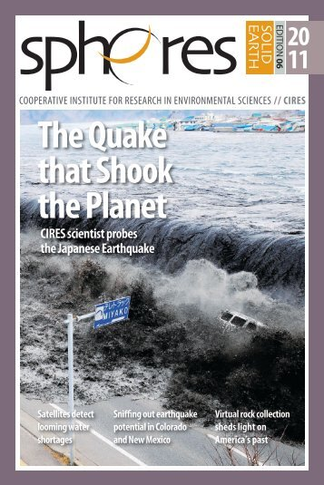 The Quake that Shook the Planet - Cooperative Institute for ...