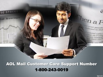 AOL Mail Customer Care Support Number 18002430019 For Assistance