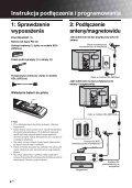Sony KDL-32P2520 - KDL-32P2520 Mode d'emploi Polonais - Page 4