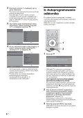 Sony KDL-32P2520 - KDL-32P2520 Mode d'emploi Polonais - Page 6