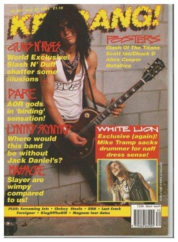 kerrang 351 july 27 1991