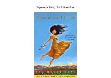 Esperanza Rising  Full EBook