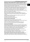 Sony VGN-FW41MR - VGN-FW41MR Documents de garantie Tchèque - Page 7