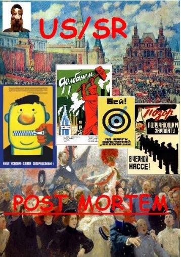 USSR POST MORTEM