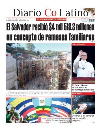 Edición 27 de diciembre de 2017