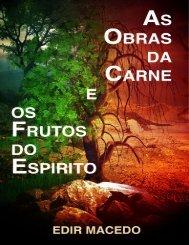 livro As Obras da Carne e os Frutos do Espirito