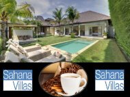 villas for rent in Seminyak
