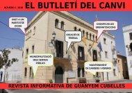 BUTLLETÍ GUANYEM CUBELLES