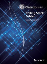 Rolling Stock Cables