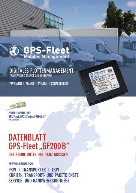 Datenblatt GF200B