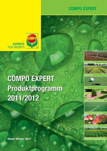 COMPO EXPERT Produktprogramm 2011/2012