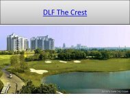 DLF The Crest in gurgaon