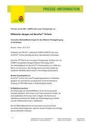 Effizienter düngen mit NovaTec® 18 fluid - COMPO EXPERT