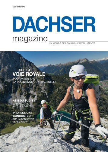 PROCHAINE SORTIE : L'AVENIR - Dachser