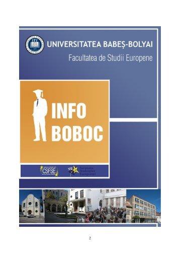 Universitatea Babeş-Bolyai - Facultatea de Studii Europene