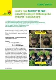 COMPO Tipp: NovaTec® 18 fluid – innovative ... - COMPO EXPERT