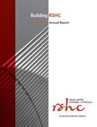 RSHC 2016-2017 Annual Report