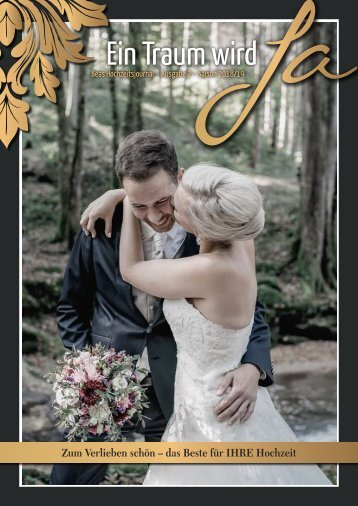 Beas Hochzeitsjournal 2018