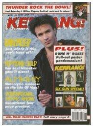kerrang 349 july 1991