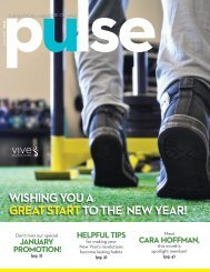 January Pulse | VIVE Health & Fitness