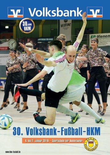 30. Volksbank-Fußball-HKM