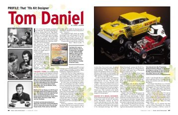 PROFILE: That '70s Kit Designer - The Tom Daniel Collector's Club