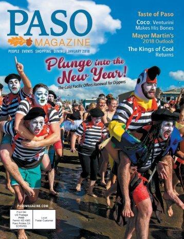 2018 January PASO Magazine #201